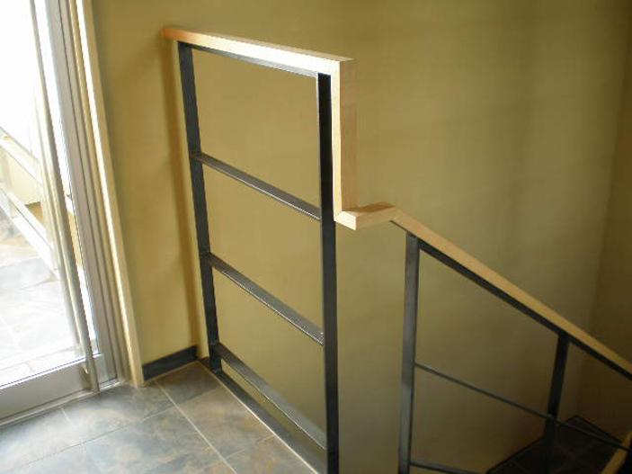 S様 階段手すり製作