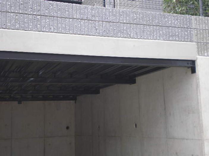 M様邸 車庫兼用ベランダ